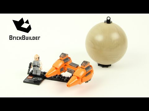 Lego Star Wars 9678 Twin-Pod Cloud Car & Bespin - Lego Speed Build