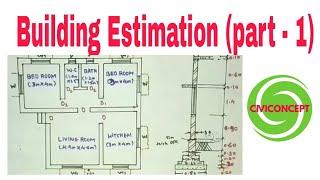 Estimation of Building Part - 1