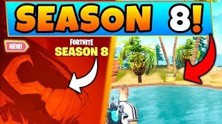 Fortnite SEASON 8 TEASER, PIRATES, + TILTED Being Destroyed?!   7 Clues & Theories In Battle Royale!