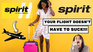 SPIRIT AIRLINES - Things to know BEFORE flying with them