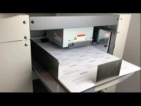 Visitenkartenschneider und Digitaldruckschneidemaschine AutoCut Nano Pro