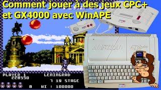 2020-03-25 Comment jouer à des jeux CPC+ et GX4000 avec WinAPE