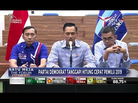 [FULL] Agus Yudhoyono Tanggapi Hitung Cepat Pemilu 2019