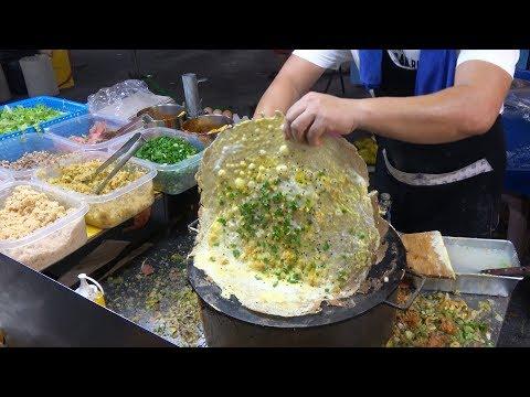Malaysia Street Food KL Longest Night Market