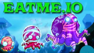 СЪЕШЬ МЕНЯ - Рыбки андроид игра EATME.IO похожая на СЛИЗАРИО Видео для детей
