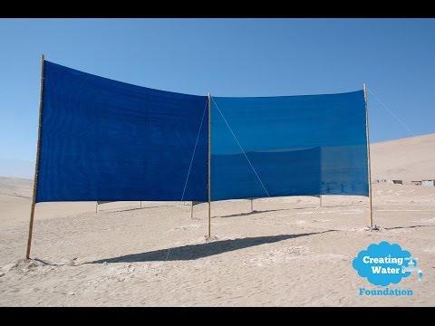 Wasser erschaffen in der Atacama Wüste