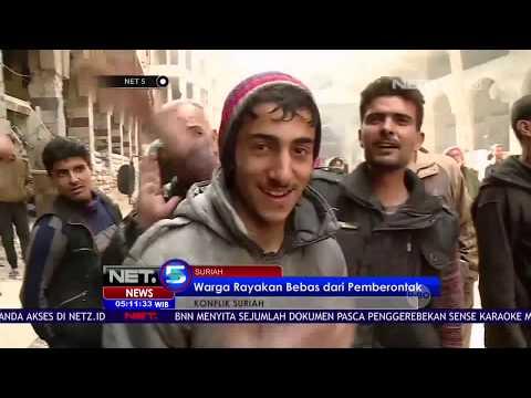 Konflik Suriah, Pemerintah Pukul Mundur Pemberontak NET5