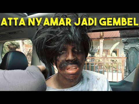 ATTA NYAMAR JADI GEMBEL MASUK RESTO MEWAH!!