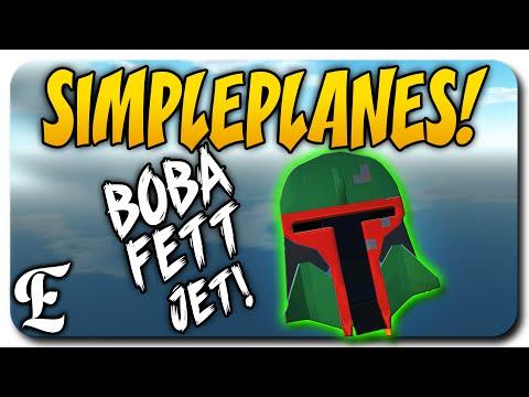 SimplePlanes ➤ BOBA FETT JET, A-10 Thunderbolt II, Tie Fighter - Let's Play SimplePlanes