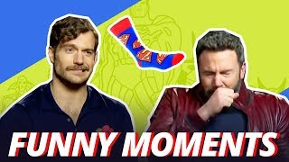 Download Youtube: BEN AFFLECK IS ALLERGIC TO SUPERMAN SOCKS - Funny Moments