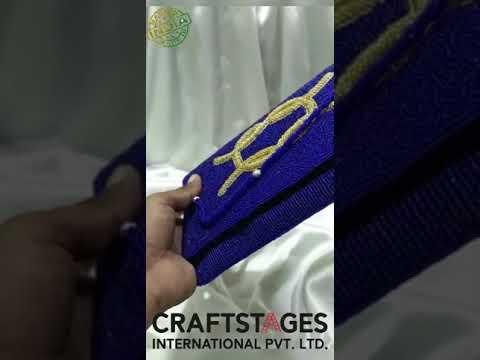 Partywear Ethnic Clutch Bag - Bridal Clutch Bag