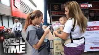 Reel Time: Ina, Bitbit Ang Anak Habang Nagtatrabaho
