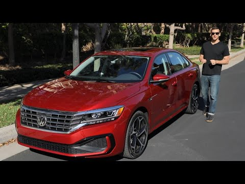 2020 Volkswagen Passat Test Drive Video Review