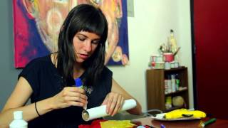 Space Projects for Kids With Paper Towel Tubes : Arts & Crafts for Kids