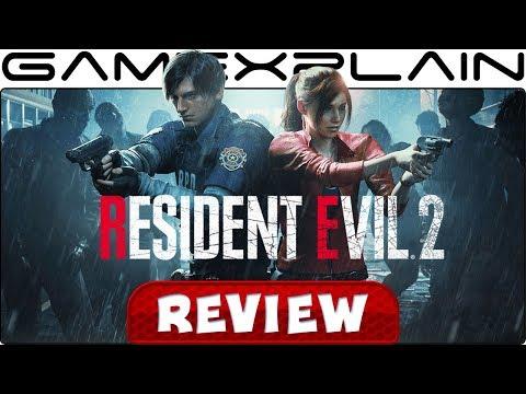 Resident Evil 2 - REVIEW - YouTube video thumbnail
