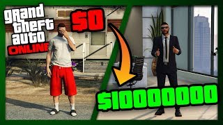 ZERO to MILLIONS | The Ultimate Guide for NEW and BROKE Players of GTA Online | Get RICH Fast