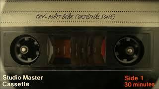 cry - matt bear (original song)