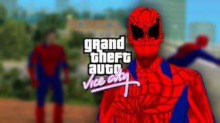 Смотреть онлайн Мод для GTA Vice City – человек паук