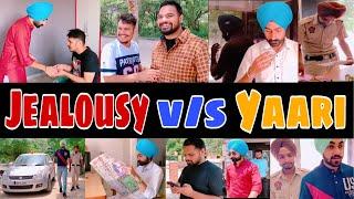 ਆ ਦੇਖੋ jealousy ਕਰਕੇ ਆਪਣੇ ਯਾਰ ਨੂੰ ਹੀ ਗ੍ਰਿਫਤਾਰ ਕਰਾ ਤਾ || Jealousy v/s Yaari || Arshpreet Salh Team