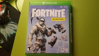 Fortnite Deep Freeze Bundle Xbox One Unboxing 免费在线视频最佳电影