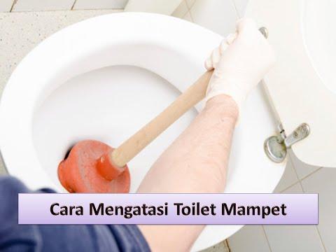 Video Cara Ampuh Mengatasi Toilet Mampet