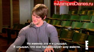Джереми (Стивен Р.МакКуин), The Vampire Diaries' Steven R. McQueen Really Wants to Be on Arrow! [русские субтитры]
