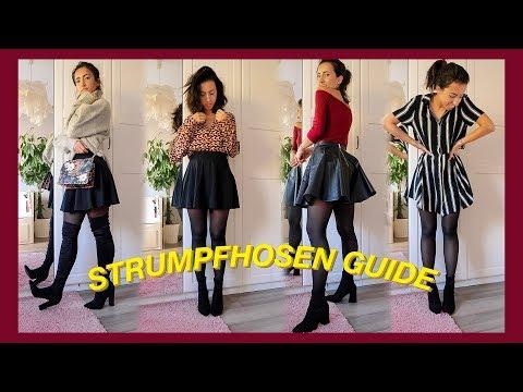 RICHTIGE STRUMPFHOSE finden, stylen & kombinieren |Strumpfhosen Guide & Hacks