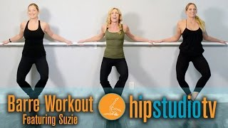 Hermosa Beach Pilates Studio | HIP Studio | Suzie's Barre Workout by HIPStudioTV