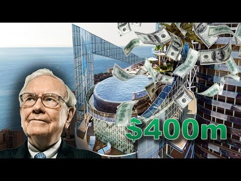 Top 5 world's most EXPENSIVE apartments (#3 is Warren Buffet's)