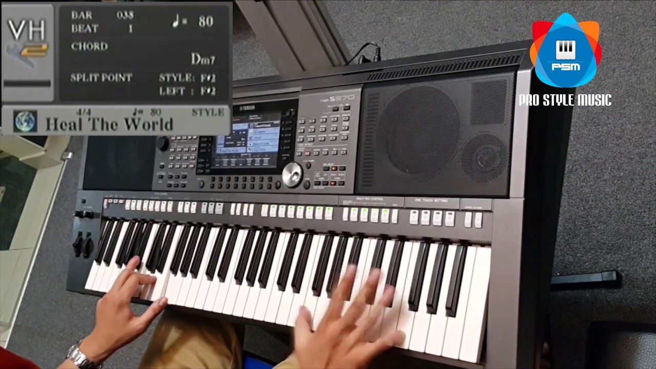 Yamaha Psr S970 S770 Pro Style Music Voice Expansion Heal The World X70 T45