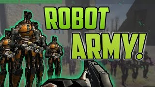 Robot Army! Empire of the Fallen Steel