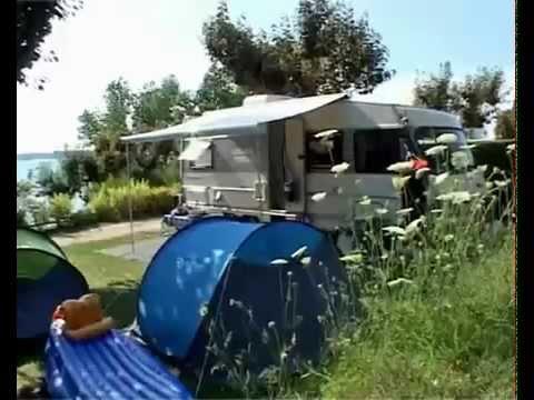 camping beau rivage lac Pareloup aveyron