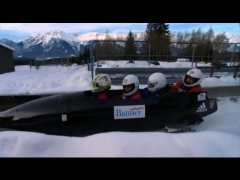 Jeremy Clarkson Rides with the British Army Bobsleigh Team | Speed | Top Gear