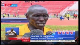 Cornelius Kangogo ndiye mshindi wa mashindano ya mita 10,000 kwa riadha za magereza