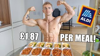 Healthy & Easy Meal Prep on a Budget  **under £20 total**