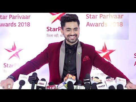 Zain Imam Interview At Star Parivaar Awards 2018