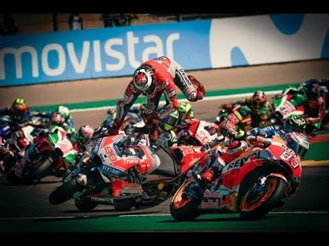 GP às 10: Confusão na largada acirra rivalidade entre Lorenzo e Márquez