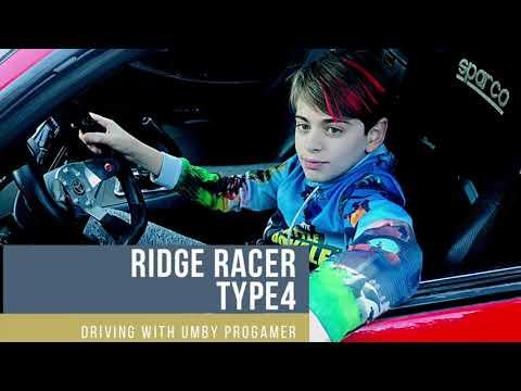 Ridge racer type 4 Umby Progamer gaming- driving .