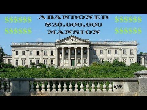 ABANDONED WHITE HOUSE MANSION *20 MILLION DOLLARS*