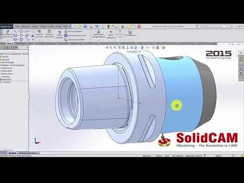 SolidCAM - CAD Daten für die STL Werkzeughalterbibliothek anpassen