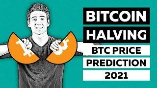 Bitcoin Kurs vor Halbing 2021