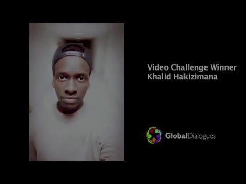 Global Dialogues Peer Pressure Video Challenge, winning video from China/Rwanda