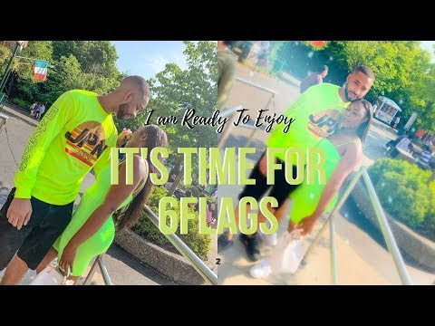 A Trip To Six Flags | I am Glowing Hunty | PRIDE Weekend With My Bestie