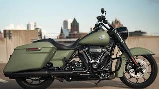 2021 New Road King Special 114 Harley-Davidson Deadwood Green