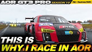 Project Cars 2: Some REALLY close calls! (AOR GT3 PRO League Rd.2 - Raupuna Park)