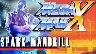 Mega Man X: Spark Mandrill - Metal Cover