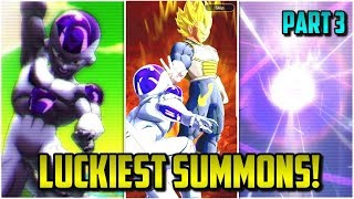 LUCKIEST SUMMONS IN DRAGON BALL LEGENDS! (Part 3) | Dragon Ball Legends List