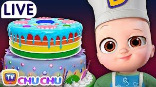 ChuChu TV LIVE - Pat A Cake & More Baby Nursery Rhymes & Kids Songs