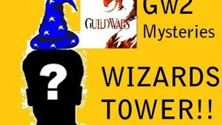 Guild Wars 2 Mysteries - The Floating/Wizards Tower!!