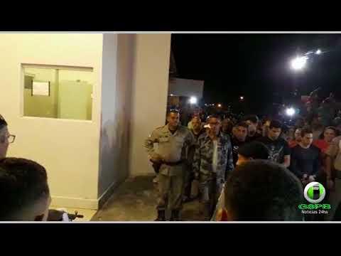 Em Alhandra: Comoção marca enterro do sargento da PM da Polícia Militar Luciomario